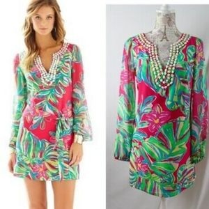 LILLY PULITZER - Silk Saemus In Jungle Tunic